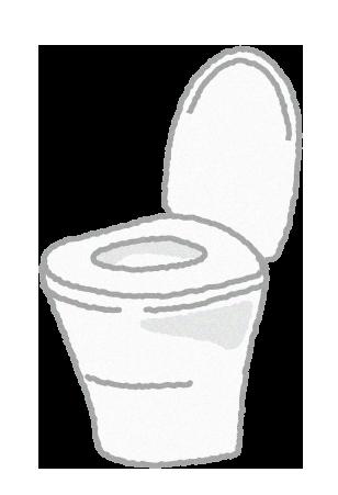 無料素材;トイレ(便器)のイラスト