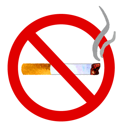 煙草(たばこ)のイラスト【フリー素材】