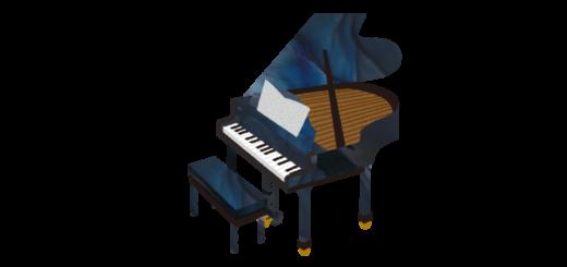 グランドピアノのイラスト スタンウェイ