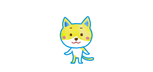 猫のキャラクターイラスト