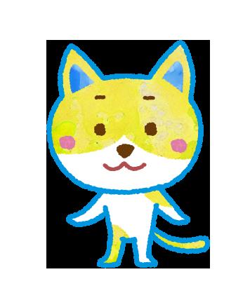 ネコのキャラクターイラスト