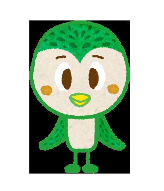 スズメのキャラクターイラスト