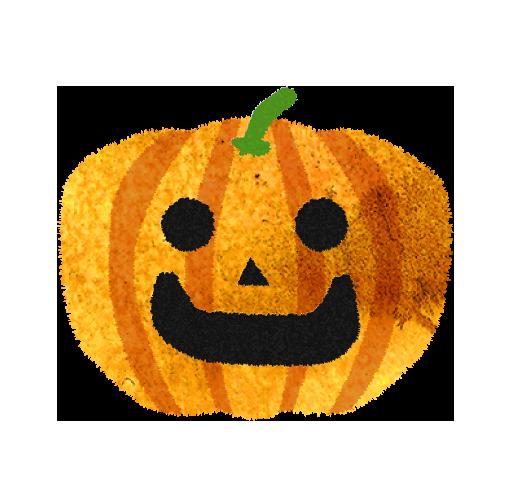 かぼちゃお化けのイラスト