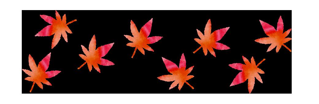 【無料素材】紅葉(もみじ)のパターン