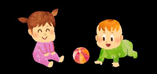 0才児保育のイラスト