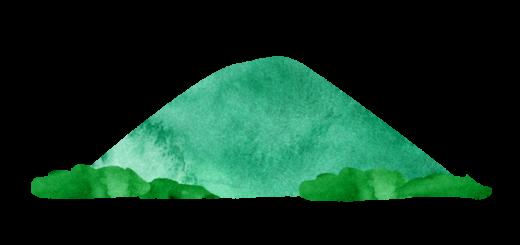 高尾山のイラスト