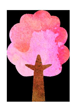 【無料素材】桜の木のイラスト