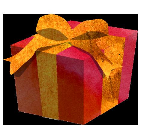 【無料素材】プレゼントBOXのイラスト