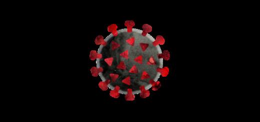 新型コロナウイルスcovid-19のイラスト