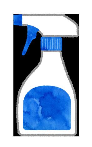 【無料素材】スプレーの容器のイラスト