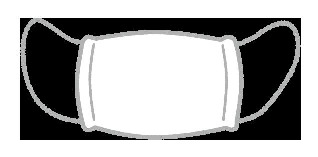 【無料素材】アベノマスク届かないのイラスト