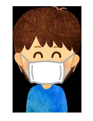 【無料イラスト】アベノマスクのイラスト