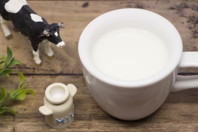 牛乳は危険の写真
