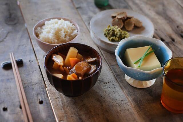 和食が一番の写真