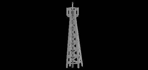 携帯の基地局鉄塔
