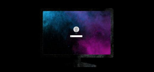 液晶ディスプレイID入力画面のイラスト