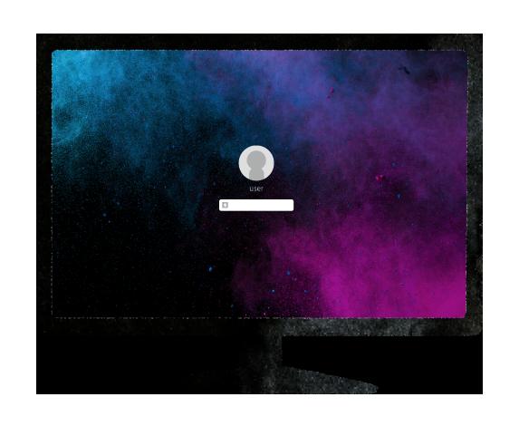 【無料素材】パスワード入力画面のイラスト