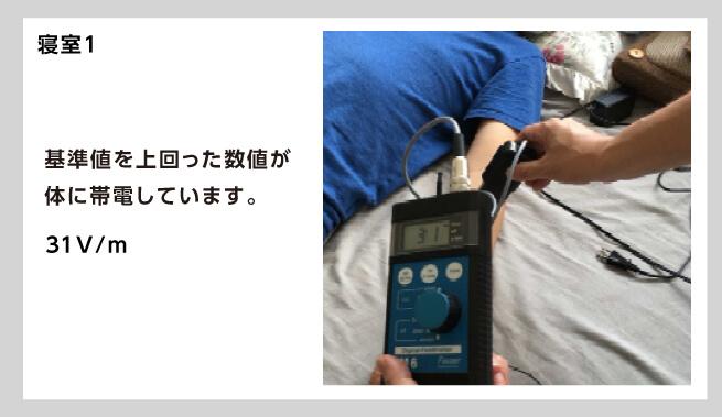 寝ている間も電磁波の影響を受ける