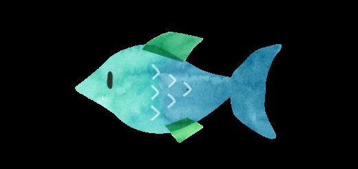 熱帯魚のイラスト
