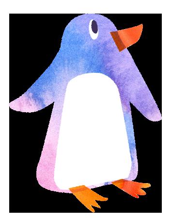 【無料素材】ペンギンのイラスト