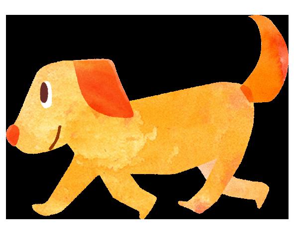 【無料素材】犬のイラスト