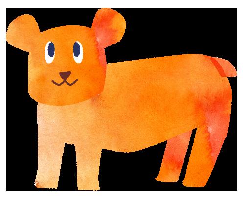 【無料素材】クマさんのイラスト