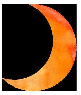 【無料素材】お月様のイラスト
