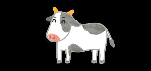 かわいい牛さんのイラスト
