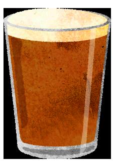 地ビールのイラスト