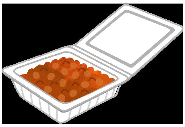 納豆パックのイラスト素材