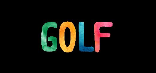 GOLFのロゴ