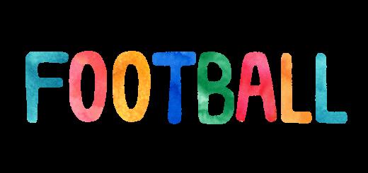FOOTBALLのLOGO