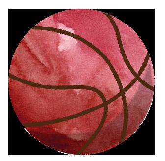 バスケットボールのイラスト