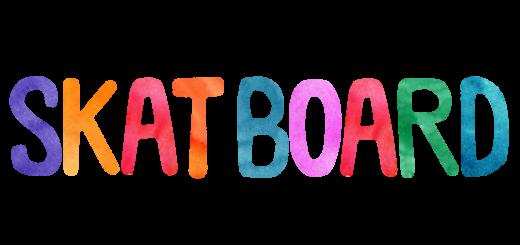 skateboardのロゴ